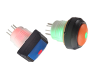 Vandal Resistant Switch, Vandalproof Switch, Illuminated Switch, L16